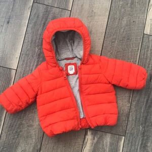 Used 0-6 month Gap Puffer Jacket